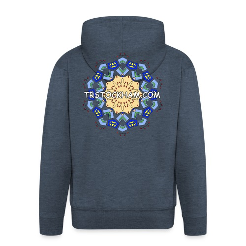 Enjoyably Quirky Colouring Book Design 7 - Men's Premium Hooded Jacket