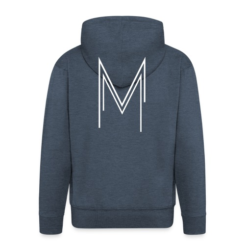 Men's Premium Hoodie BLACK - Men's Premium Hooded Jacket