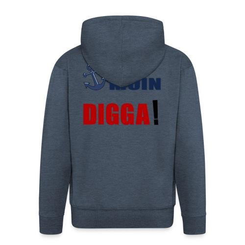 MOIN_DIGGA - Männer Premium Kapuzenjacke