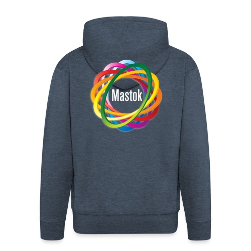Mastok's Logo - Männer Premium Kapuzenjacke