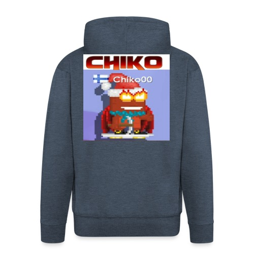 chiko00 fain juttuja :D - Men's Premium Hooded Jacket
