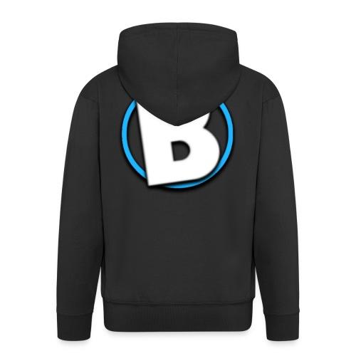 Bumble Logo - Men's Premium Hooded Jacket