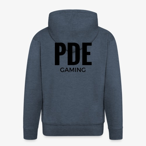 PDE Gaming - Männer Premium Kapuzenjacke