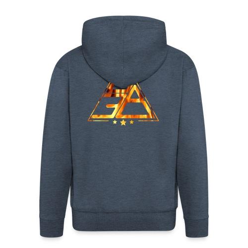 Triangle de feu - Veste à capuche Premium Homme