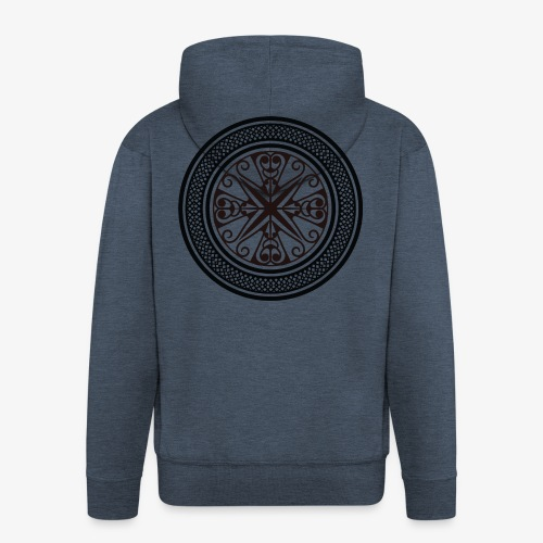 Tribal 3 - Men's Premium Hooded Jacket