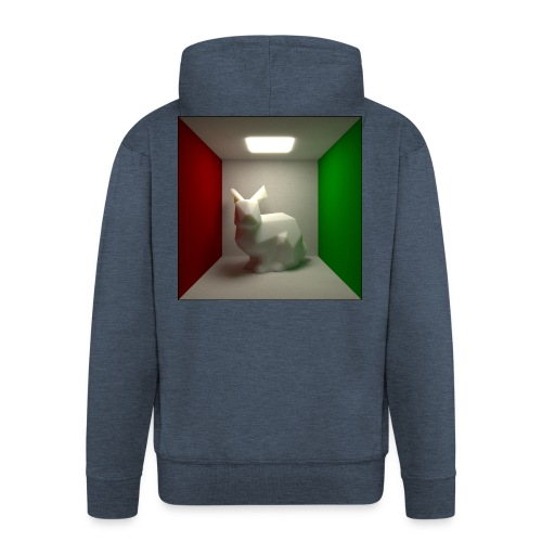Bunny in a Box - Men's Premium Hooded Jacket