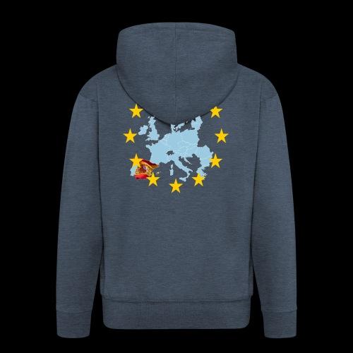 EU Spain (Europa Spanien) - Männer Premium Kapuzenjacke