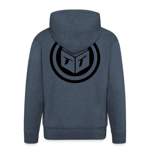 mb logo klein - Männer Premium Kapuzenjacke