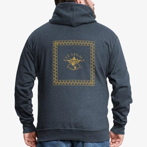 EYE LEGACY (Gold) - Men's Premium Hooded Jacket