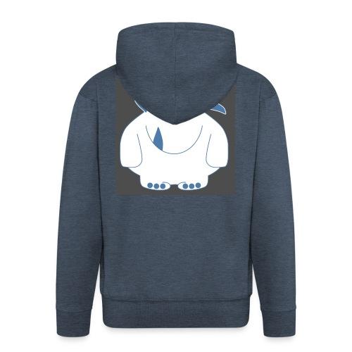 Pinky Monster - Men's Premium Hooded Jacket