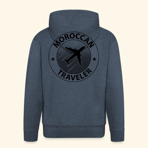 Moroccan Traveler - Veste à capuche Premium Homme