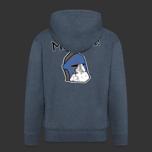 Warden Cytat Miserum! - Rozpinana bluza męska z kapturem Premium