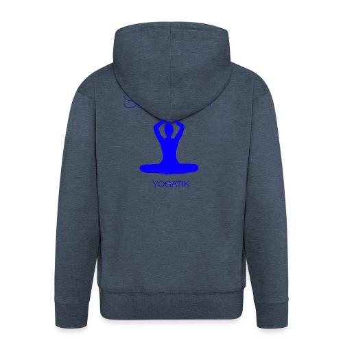 yogatyk blue - Veste à capuche Premium Homme