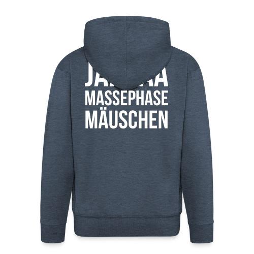 Massephase Mäuschen - Männer Premium Kapuzenjacke