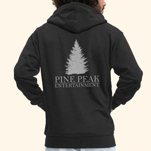Pine Peak Entertainment Grey - Mannenjack Premium met capuchon