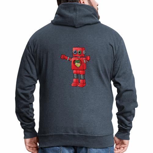 Brewski Red Robot IPA ™ - Men's Premium Hooded Jacket