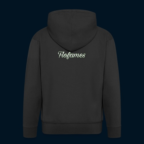 camicia di flofames - Felpa con zip Premium da uomo