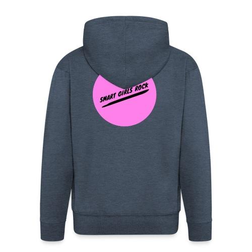 Smart Girls Rock - Männer Premium Kapuzenjacke