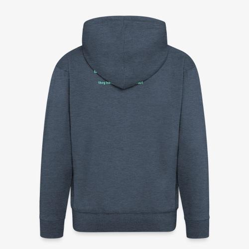 Neuralgia trójdzielna - Rozpinana bluza męska z kapturem Premium