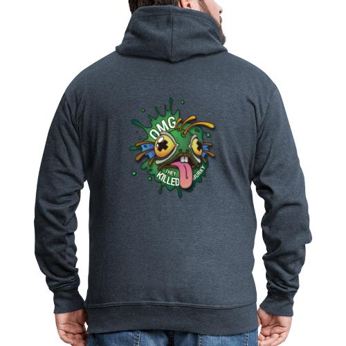Logo guilde OMG - Veste à capuche Premium Homme