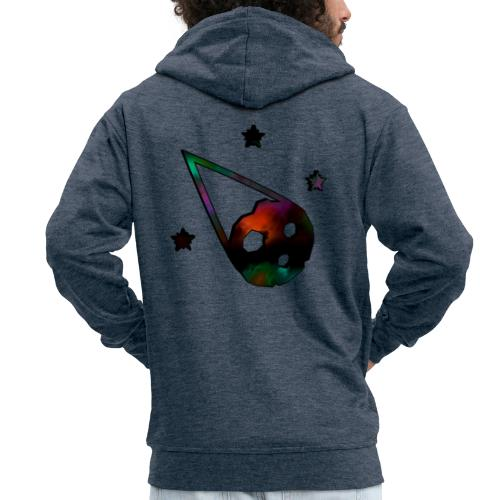 logo interestelar - Chaqueta con capucha premium hombre