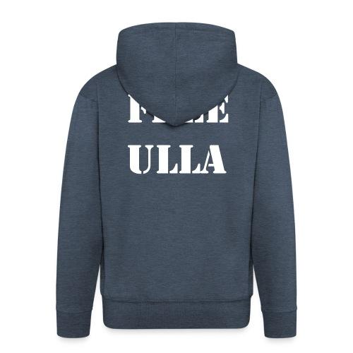Free Ulla - Vit Text - Premium-Luvjacka herr