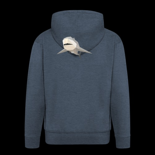 SHARK COLLECTION - Felpa con zip Premium da uomo