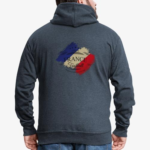 France Football - Männer Premium Kapuzenjacke