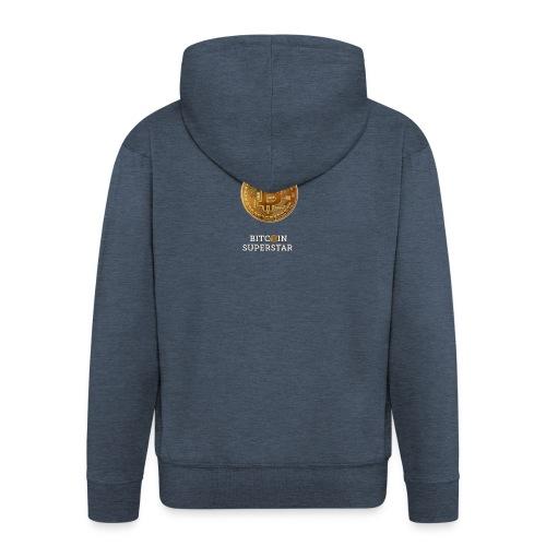 Cryptomaniac - Felpa con zip Premium da uomo