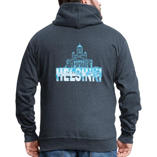 Helsinki Cathedral - Men's Premium Hooded Jacket