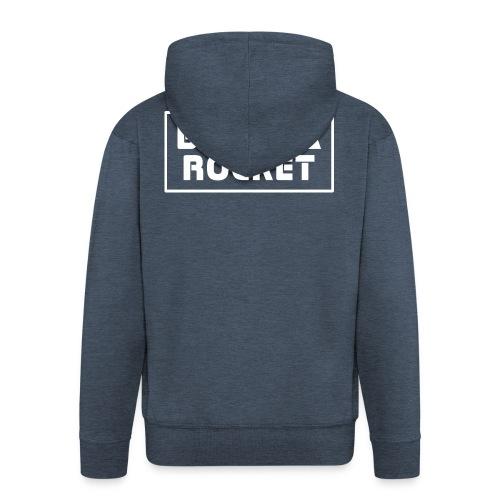 Banana Rocket Classic Woman - Felpa con zip Premium da uomo