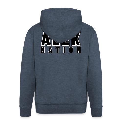 ALEKNATION T-SKJORTE - Premium Hettejakke for menn