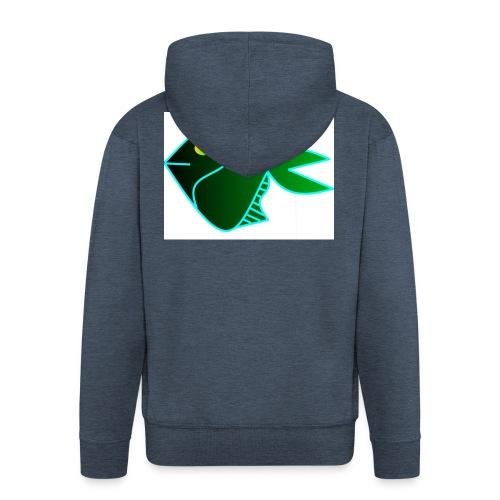 Green anglefish - Mannenjack Premium met capuchon
