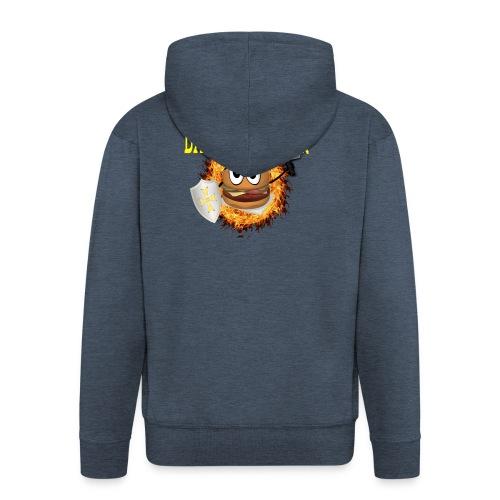 Battle_Burger - Chaqueta con capucha premium hombre
