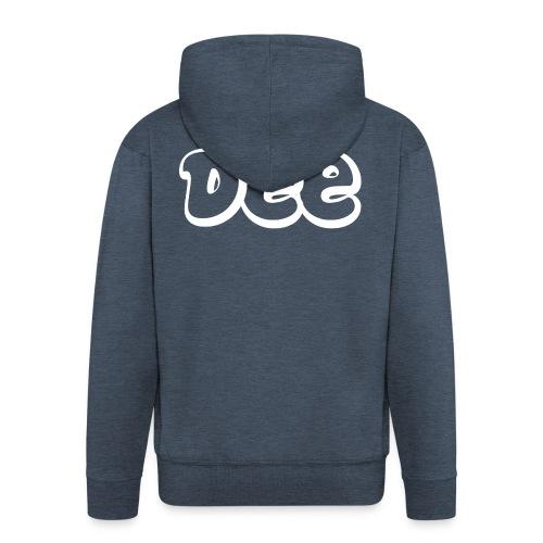 Dee T-Shirt! - Mannenjack Premium met capuchon