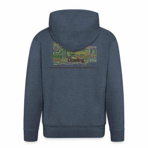 Lá na mban Kilkenny Wordle - Men's Premium Hooded Jacket