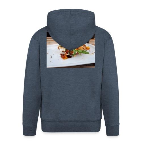 Bagel Chicken Burger - Männer Premium Kapuzenjacke