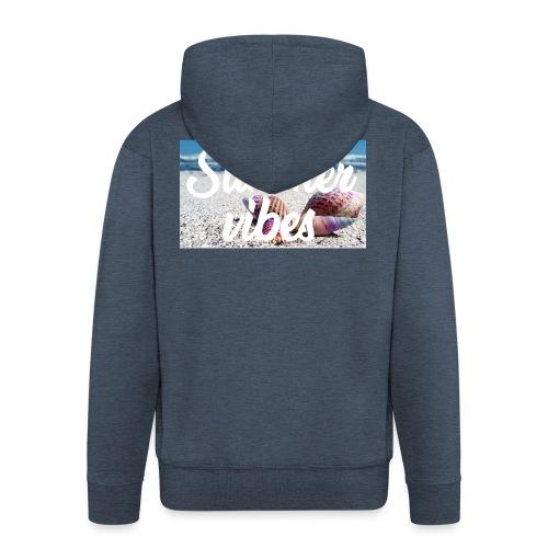 Summervibes - Männer Premium Kapuzenjacke