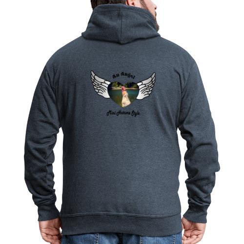 An Angel bunt - Männer Premium Kapuzenjacke