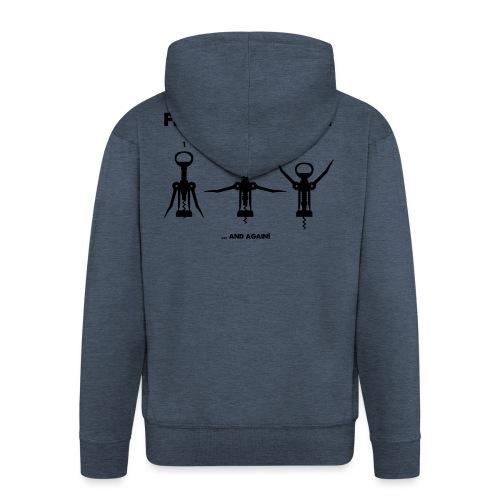 Free wine athlet - Männer Premium Kapuzenjacke