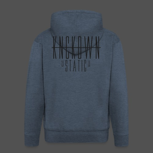 KNCKDWN static 2018 - Männer Premium Kapuzenjacke