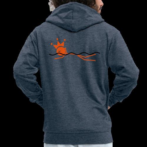 Zwemkoning - Mannenjack Premium met capuchon