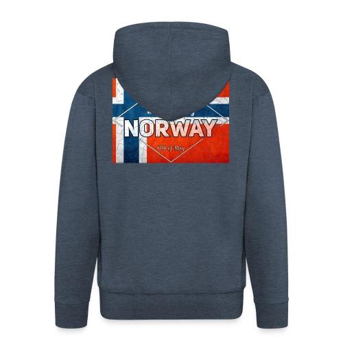 Best Cuntry NORWAY - Men's Premium Hooded Jacket