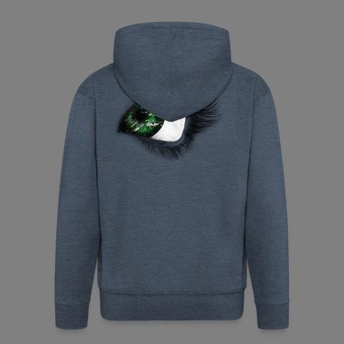 Auge 1 - Männer Premium Kapuzenjacke