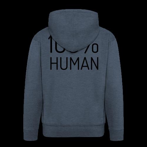 100% Human - Mannenjack Premium met capuchon