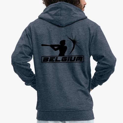 Belgium 2 - Veste à capuche Premium Homme