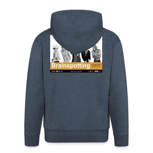 Brainspotting - Men's Premium Hooded Jacket