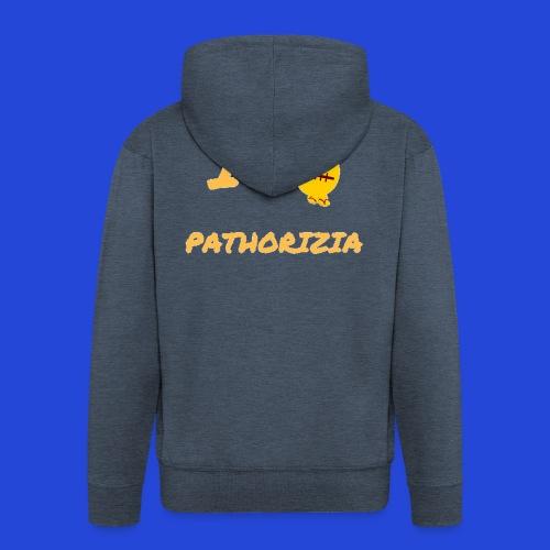 Love Pathorizia - Felpa con zip Premium da uomo