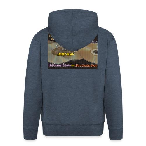 Enemy_Vevo_Picture - Men's Premium Hooded Jacket