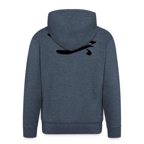 XiZZZYs Logo - Männer Premium Kapuzenjacke